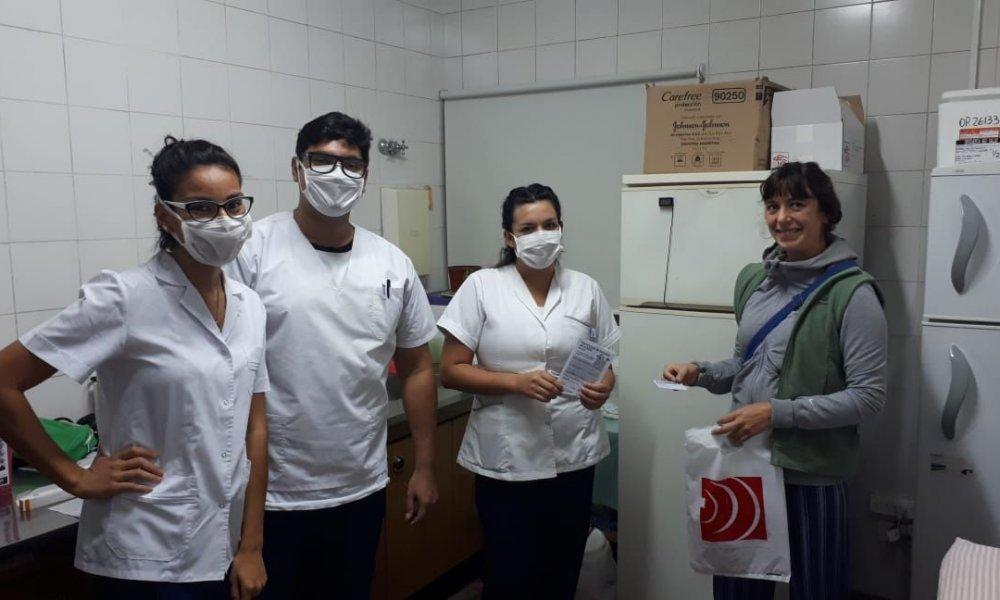 La DOSPU comenzó el cronograma de vacunación antigripal