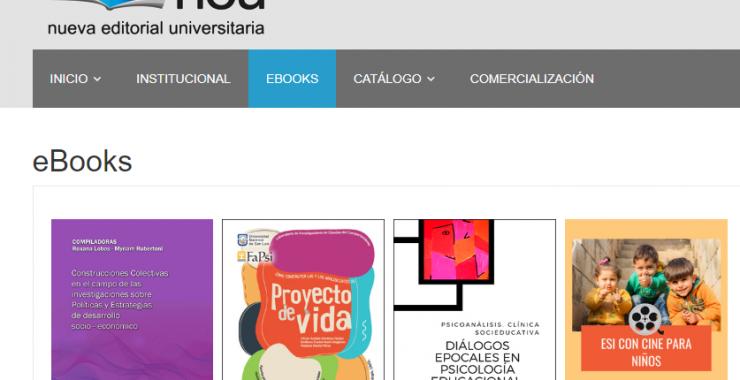 La NEU ofrece el acceso gratuito a sus libros electrónicos