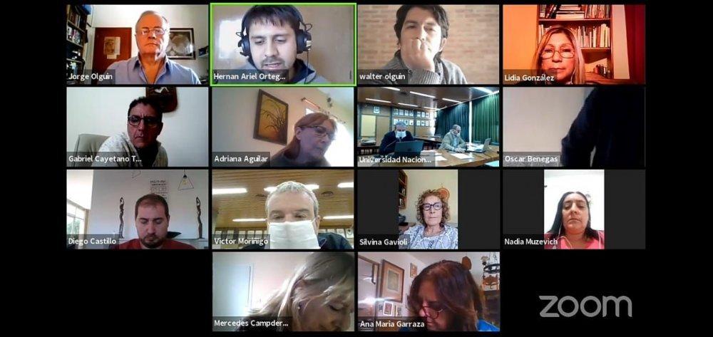 El Consejo Superior de la UNSL sesionó online