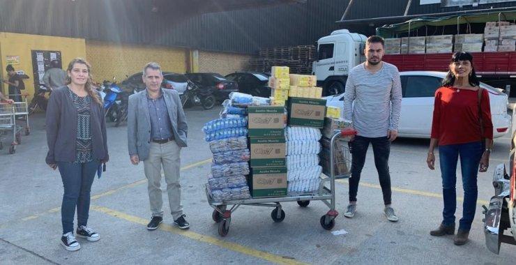 La UNSL continúa con la entrega de alimentos a Municipios