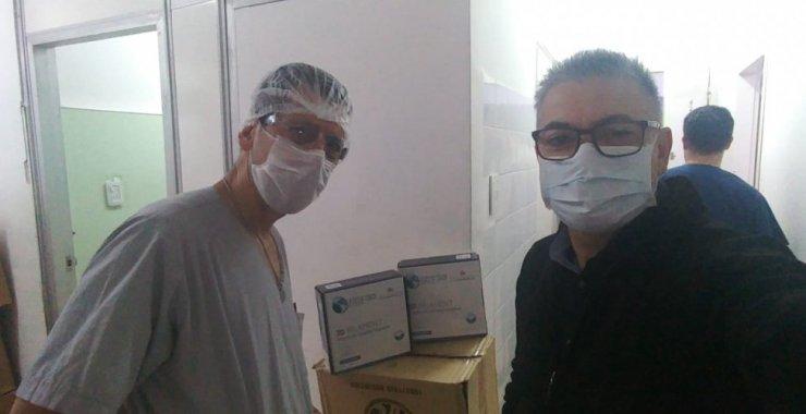 Por COVID-19 la Universidad donó materiales al Policlínico Regional San Luis