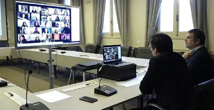 El Ministerio de Educación de la Nación se reunió con integrantes de la Red ESTRADO