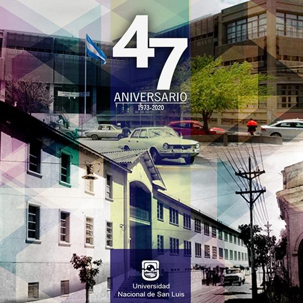 Agradecimiento por salutaciones en el 47 aniversario de la UNSL