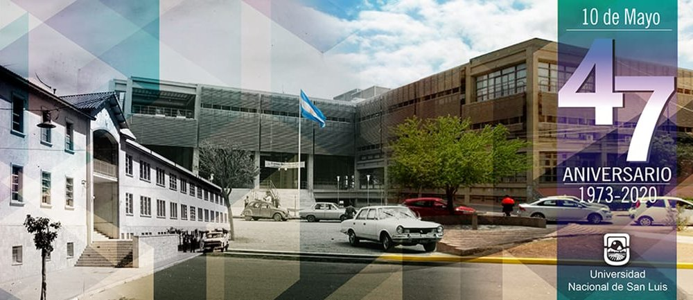 Aniversario 47 de la Universidad Nacional de San Luis