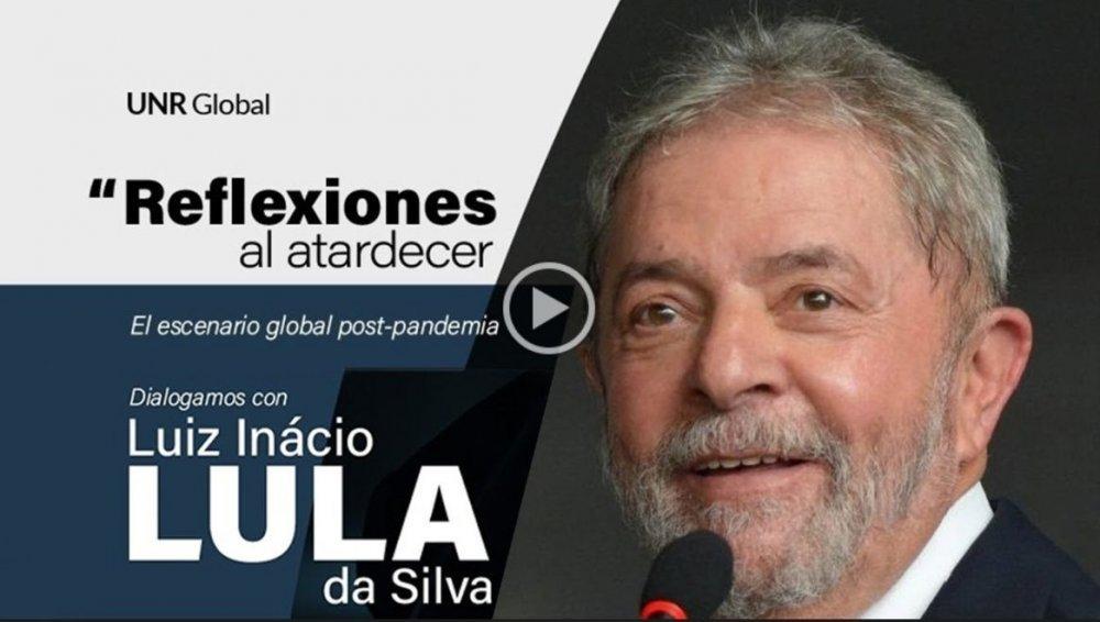 Lula Da Silva en «Reflexiones al atardecer»