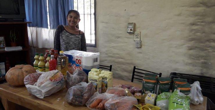 La UNSL sostiene la entrega de alimentos en las residencias universitarias