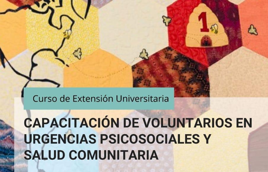 Curso virtual: Voluntarios en Urgencias Psicosociales y Salud Comunitaria