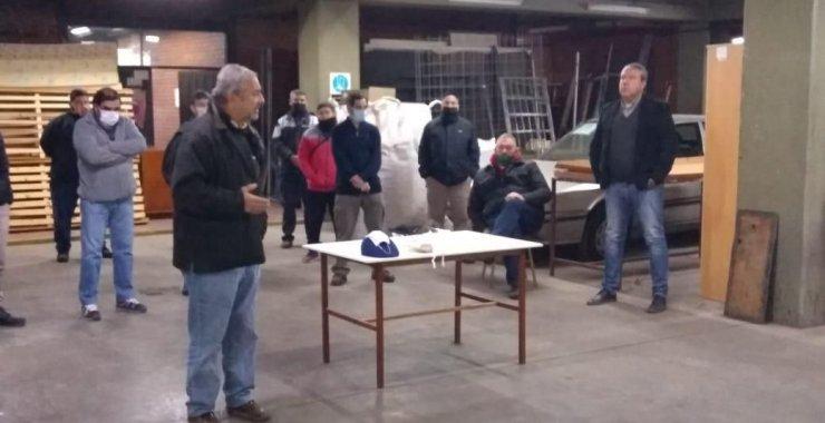 La UNSL entregó elementos de seguridad a su personal