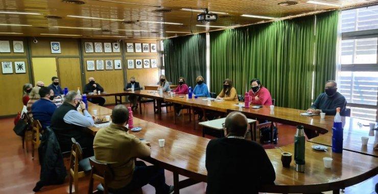 Primera reunión presencial del Rector con su equipo de gestión