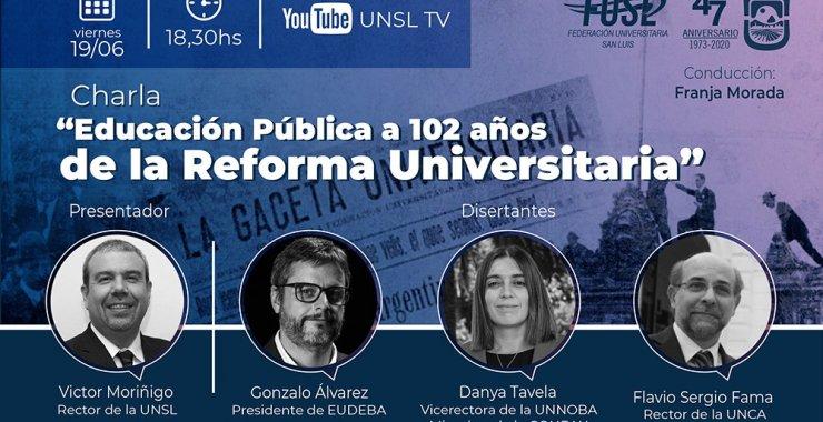 A 102 años de la Reforma Universitaria