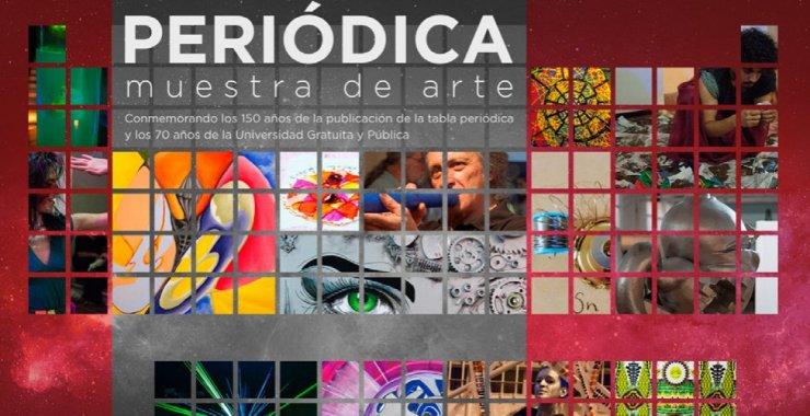 Presentarán el catálogo digital de la muestra de arte «Periódica»
