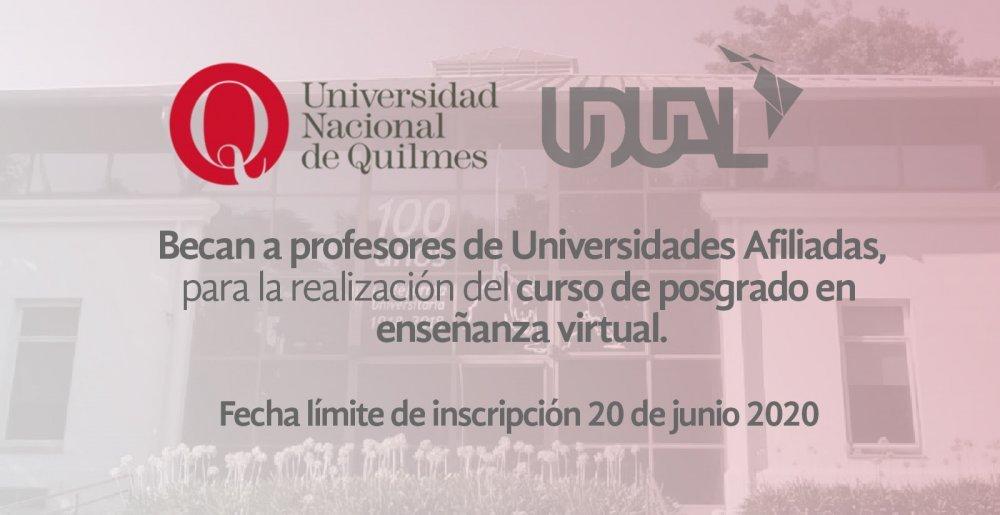 Curso de posgrado en enseñanza virtual
