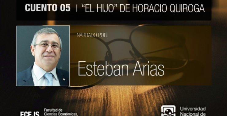 Horacio Quiroga forma parte del «Ciclo Cultural: La FCEJS te acompaña contando»