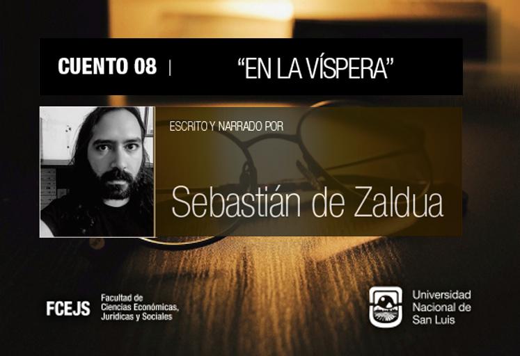 Sebastián de Zaldua comparte un cuento en el Ciclo Cultural de la FCEJS