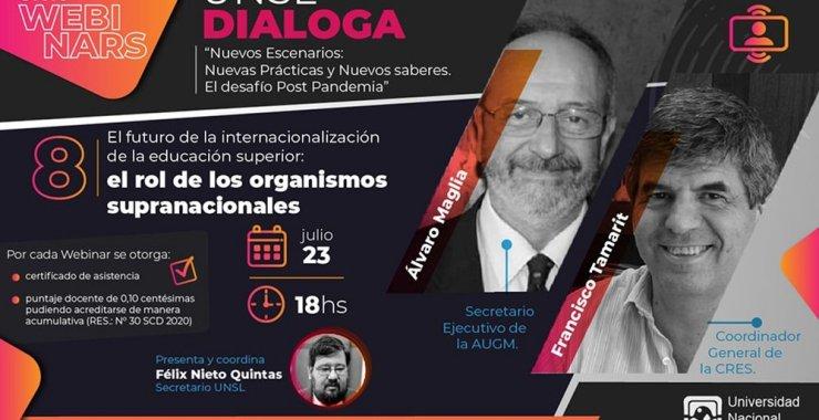 8° «El futuro de la internacionalización de la educación superior: el rol de los organismos supranacionales»