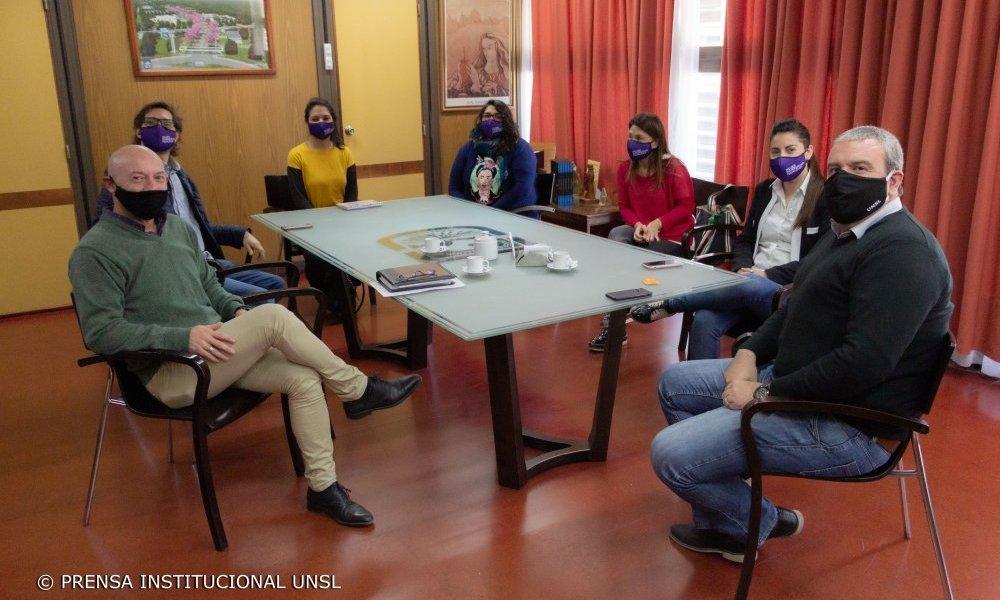 La UNSL estrecha vínculos con la Secretaría de la Mujer, Diversidad e Igualdad de la Provincia