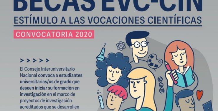 Convocatoria a Becas de Estímulo a las Vocaciones Científicas