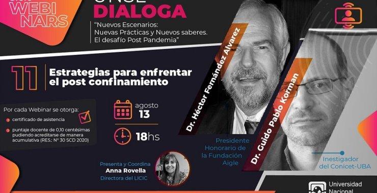 11º webinar: «Estrategias para enfrentar el post confinamiento»