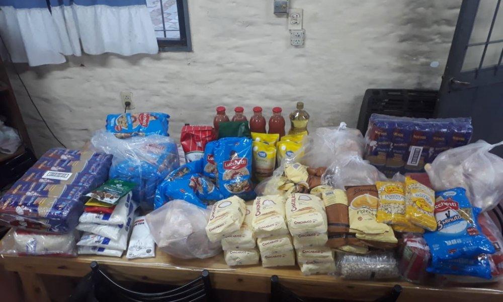 La UNSL continúa entregando alimentos a los estudiantes de sus residencias universitarias