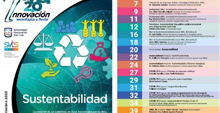 Presentaron la segunda edición de la revista digital iUNSL 2.0: Innovación Tecnológica y Social