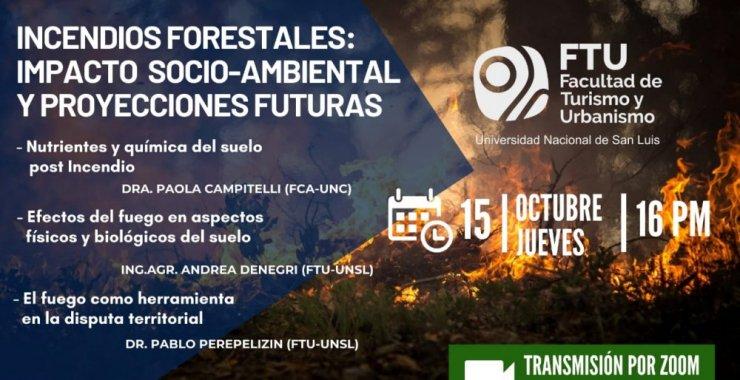 Hoy inician conversatorios virtuales sobre Incendios Forestales
