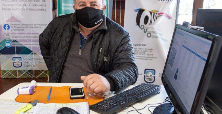 Ser personal de seguridad de la UNSL durante la pandemia del Covid-19