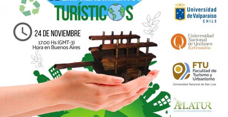 Se realizará la Primera Jornada sobre Gestión Sostenible de Emprendimientos Turísticos