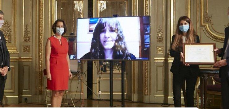 Investigadora de la UNSL obtuvo la Distinción Franco-Argentina en innovación 2020