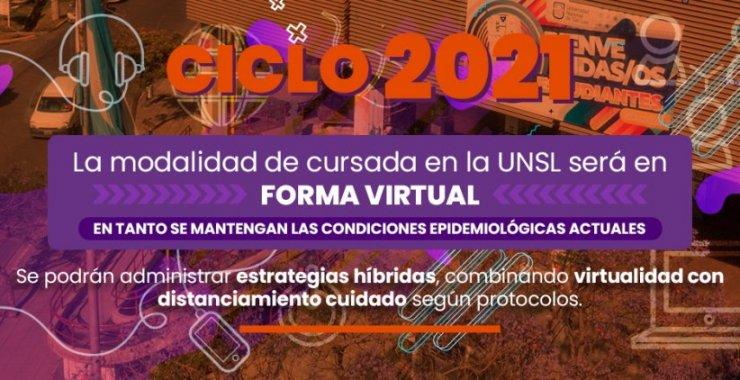 Ciclo lectivo 2021: Continuarán las clases virtuales