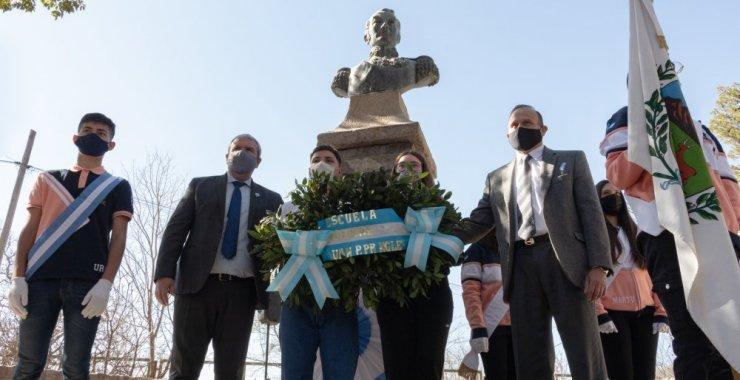 Conmemoraron los 171 años del paso a la inmortalidad de San Martín