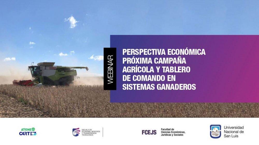 Analizarán las perspectivas económicas del maíz, la soja y la ganadería