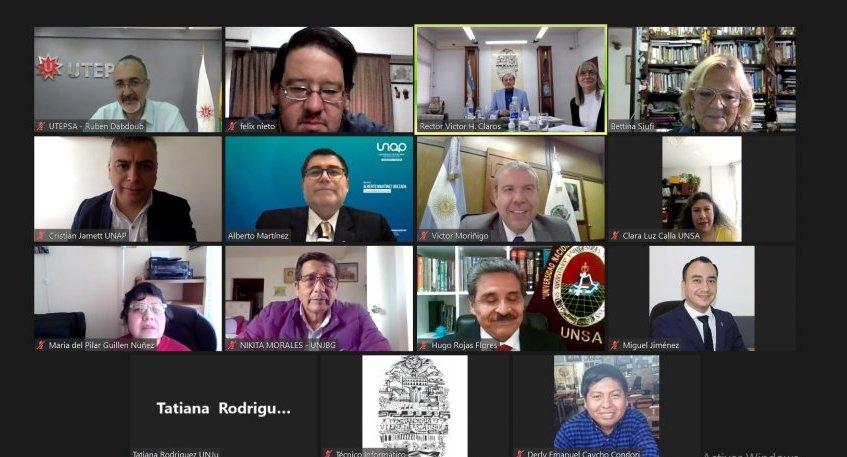 Primera participación de la UNSL en el Comité Ejecutivo de CRISCOS