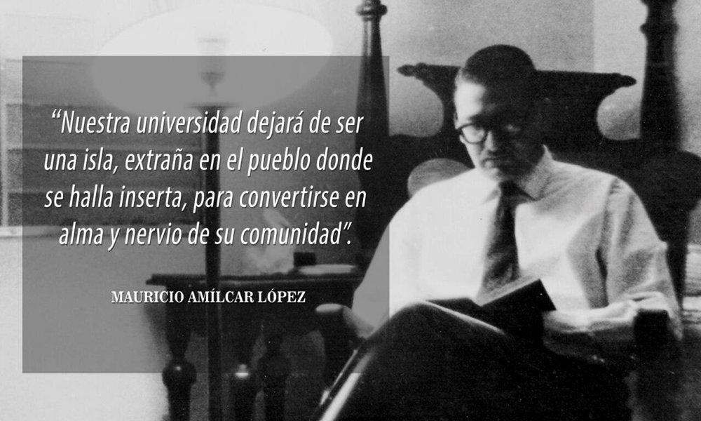 Convocatoria al Premio «Rector Mauricio Amílcar López» 2021