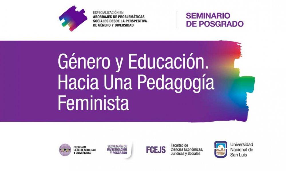 Capacitarán sobre Género y Educación