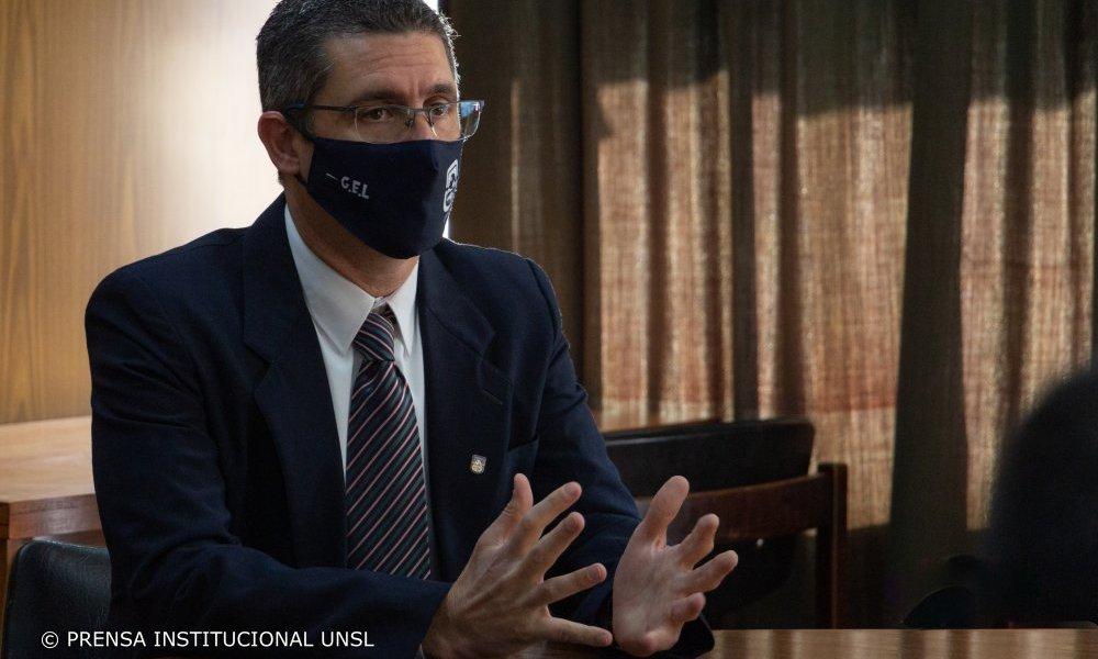 Asumió Guillermo Lehne en la Subsecretaría de Logística y Servicios de la UNSL
